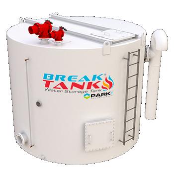 Fire Water Break Tank - Model